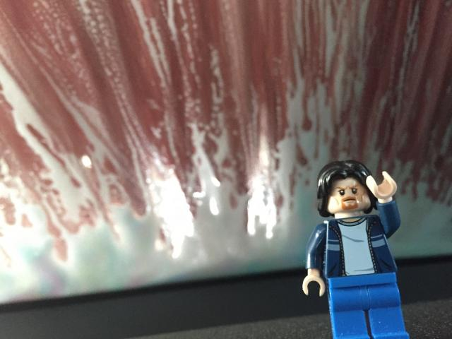 Lego Uncle Jim at the car wash