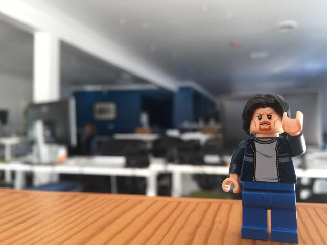 Lego Uncle Jim at Zoomdata