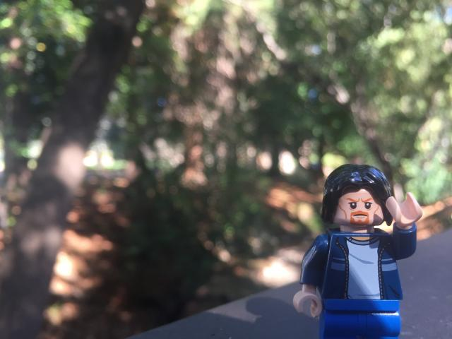 Lego Uncle Jim in Berkeley