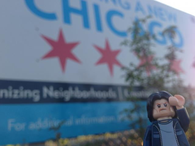 Lego Uncle Jim Builds a new Chicago